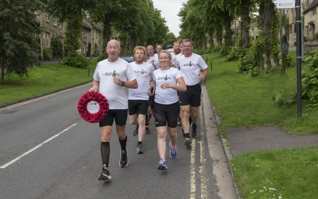 The Baton Run 2017, 110 Miles in a night