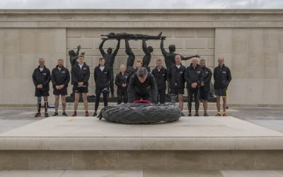 Carrying a Baton and remembrance