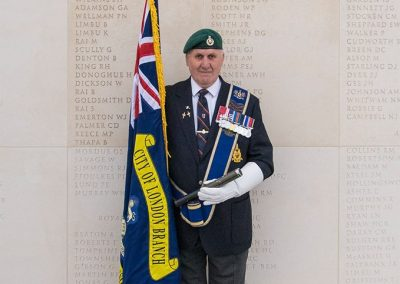 Standard Bearer - Royal Marine