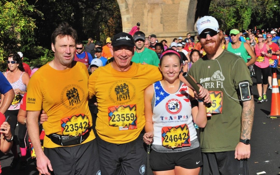 The Marine Corps Marathon October 2014
